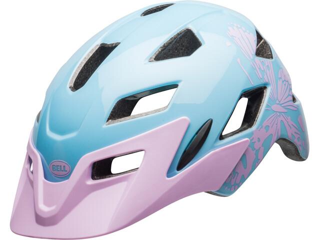 Bell Sidetrack Helmet Kinder cmyk/lilac